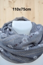 "Edelweiss Loop country grey 110x 75cm - ""leicht & flauschig"""
